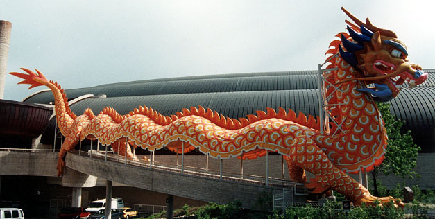 Drache in China