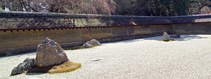 Ryoanji Zen Garten