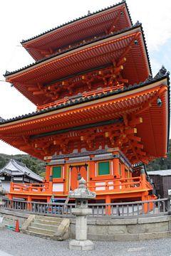 Kyoto Kiyomizu-dera Tempel Steinlaternen