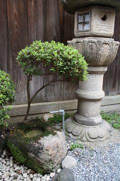 Kyoto Kiyomizu-dera Tempel Kasuga Steinlaternen