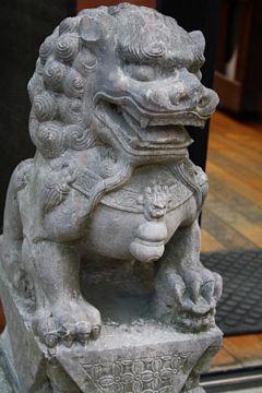 Kyoto Kiyomizu-dera Tempel Tempellöwen