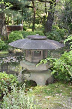 Kyoto Heian-Jingu Steinlaternen Yukimi
