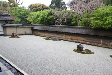 Kyoto Ryoanji Steingarten