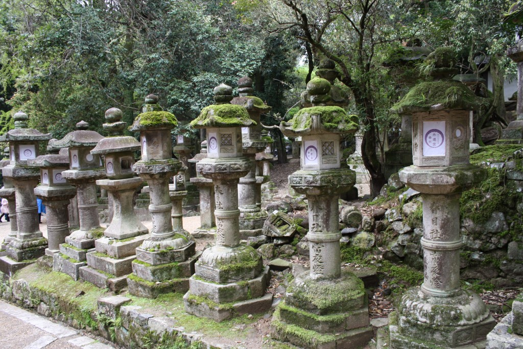 Kasuga Steinlaternen Nara