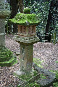 Nara Kasuga Schrein Shinzentouro Steinlaterne