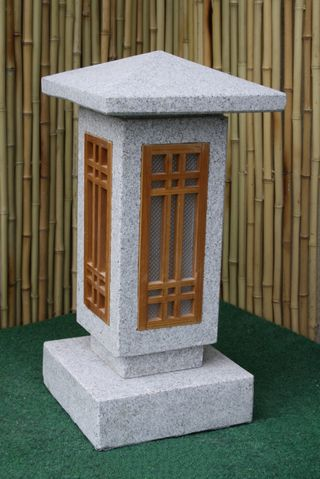Akari-A Stone Lantern