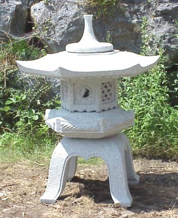 Chinese garden lanterns