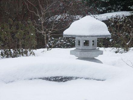 Kodai Yukimi Schneebetrachtungslaterne in Horgen
