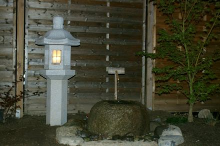Ikekomi-Gata mit Nachtbeleuchtung